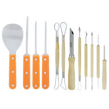 Pumpkin Masters Surface Carving Kit by Ultimate 12 Piece Professional Pumpkin Carving Tool Kit Easily