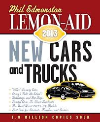 100 Best Trucks Of 2013 LemonAid New Cars And Phil Edmonston 9781459705739