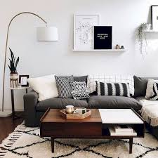 70 Stunning Grey White Black Living Room Decor Ideas And