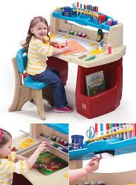 Step2 Deluxe Art Desk by Step 2 Art Desk Flip U0026 Doodle Easel Art Desk With Stool