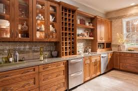 Furniture About American Woodmark Cabinets With Wine Rack And