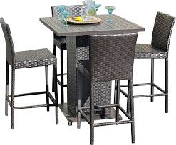 alluring high top patio table and chairs and tall patio dining set