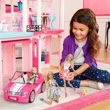 Barbie Doll Pink Car