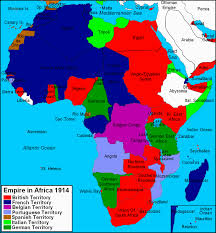 Colonized Map Of Africa