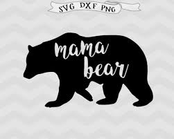 Mama Bear SVG Svg Mother Mothers Day Mom