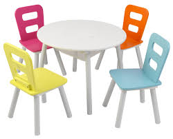 KidKraft Round Storage Table And Chair Set, Highlighter Colored ... Kidkraft Farmhouse Table And Chair Set Natural Amazonca Toys Nantucket Kids 5 Piece Writing Reviews Cheap Kid Wood And Find Kidkraft 21451 Wooden 49 Similar Items Little Cooks Work Station Kitchen By Jure Round Ding Vida Co Zanui Photos Black Chairs Gopilatesinfo Storage 4 Hlighter Walmartcom Childrens Sets Webnuggetzcom Four Multicolored