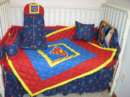 Vintage Baseball Crib Bedding by New Crib Nursery Bedding Set Made W Superman Fabric Nursery