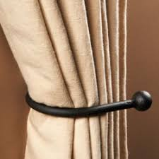 modern tie backs for curtains rooms