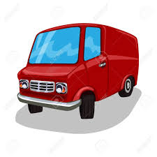 100 Commercial Truck And Van Cartoon Delivery Red Travel Bus