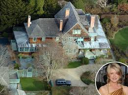 Martha Stewart from Celebrity Homes in the Hamptons