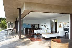 100 Griffin Enright Architects Open Plan Living Mandeville Canyon Residence In Los Angeles By