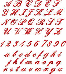 Tattoo Fonts For Men Alphabet