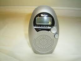 badezimmer radio tevion mit wecker timer