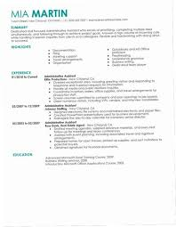 Executive Assistant Resume Samples 2016 OI1B Unforgettable Administrative Examples To Stand Out