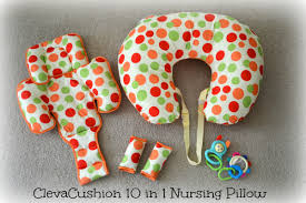 ClevaCushion 10 in 1 Nursing Pillow Babes and Kids Review Salt