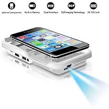 Amazon Mini Projector for iPhone OTHA Portable Mobile Cinema