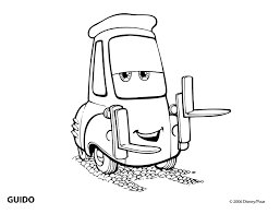 Tow Mater Cars Coloring Pages Page Lightning Mcqueen Sheet Free Printable Disney