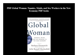 PDF Global Woman Nannies Maids And Sex Workers In The New Economy