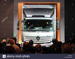 100 Mercedes Benz Truck 2013 The New Bercedes Truck Atego Is Presented At The Mercedes