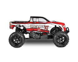 100 Red Monster Truck Cat Rampage XT 15 Scale Gas RERRAMPAGEXT