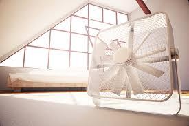 mit einem ventilator das zimmer kühlen geht das