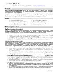 Sample Executive Resume 3 Vendor Management For Study