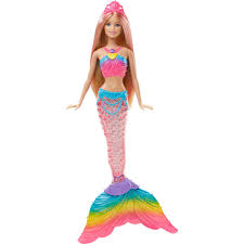Barbie Rainbow Lights Mermaid Doll BIG W