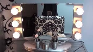 Vanity Table With Lighted Mirror Canada by Vanity Hollywood Mirror Review U0026 U0026 Hayworth Vanity Youtube