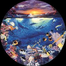 100 Christian Lassen Artist Circle Of Life 1989 By Riese