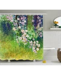 Japanese Cherry Blossom Bathroom Set by Decor Shower Curtain Cherry Blossom Print For Bathroom