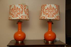 Orange Table Lamp House Inside Techniques As Well Tips Plus