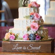 Rustic Wedding Cake Stand Weddbook Country Stands Stunning Image
