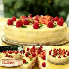 sommerliche erdbeer vanille torte julias kuchenwelt