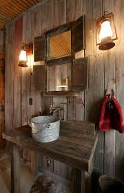 Rustic Cabin Bathroom Lights by Lantern Style Lighting Ideas For Many Spaces Rustic Bathrooms