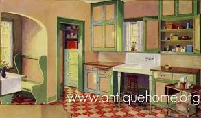 1930s Kitchen Design And Designs For Small Spaces Comfortable Appealing In Your Home Together With Colorful Concept Idea 39