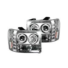 GMC Sierra Projector Headlights - Truck & Car Parts - 264271CLCC ... Gmc Sierra Accsories 2017 Top Car Reviews 2019 20 Chevrolet Truck 2015 Incredible Dealer 5 Must Have For Your Gmc Denali Pick Up Youtube Tops Custom Chevy Canada Best Image Kusaboshicom 2011 1500 Hostile Exile Performance Body Lift 3in Photo Gallery Xtreme Vehicles Gmc Truck Accsories 2016 2014 All The Canyon In A Nutshell The News Wheel Undcovamericas 1 Selling Hard Covers 2010 Short Box Crew Cab Sle 4x4 Loaded With Photos Sleavinorg