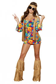 3 PC Hippie Hottie Costume