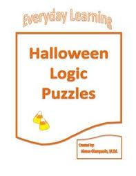 Halloween Brain Teasers Worksheets by Halloween Logic Puzzle Logic Puzzles Brain Teasers And Math