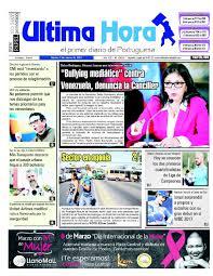 Edici³n 24 05 2017 by Ultima Hora El primer diario de Portuguesa