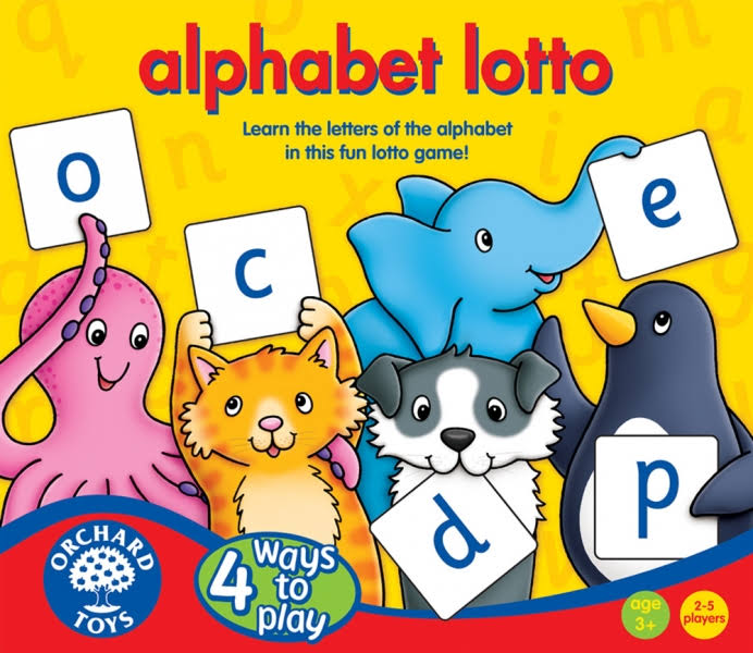 Orchard Toys Alphabet Lotto Game