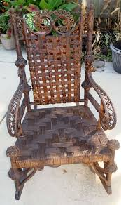 Details About Antique Heywood Wakefield Rattan Wicker ...
