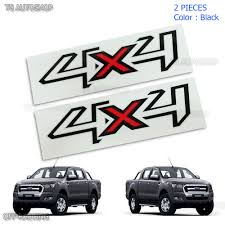 Pair Set Sticker Decals 4x4 Black Red For Ford Ranger T6 Ute ... Ford Lightning 2 Sticker Hot New Left Right Racing Team Auto Body Vinyl Diy 052017 Mustang Distressed Flag Trunk Lid Decal Ztr Graphicz Used Decals Stickers For Sale More Auto And Truck Herr Wwwbloodazecom Stickers Powered By Edition Decal Sticker Logo Silver Pair Other Emblems Ranger Raptor Kit Style B Set Of 2017 F150 Stx Offroad Vinyl Pickup 1pc Free Shipping Longhorn Ranger 300mm Graphic Rap002b Removable Ford Truck Classic Car 58x75cm Wall