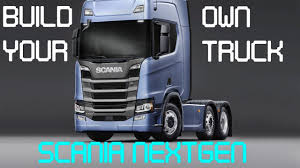 100 Build Your Own Truck Scania YouTube