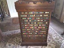 antique thread cabinet ebay