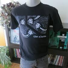 the alarm t shirt screen print vintage tees t shirts online