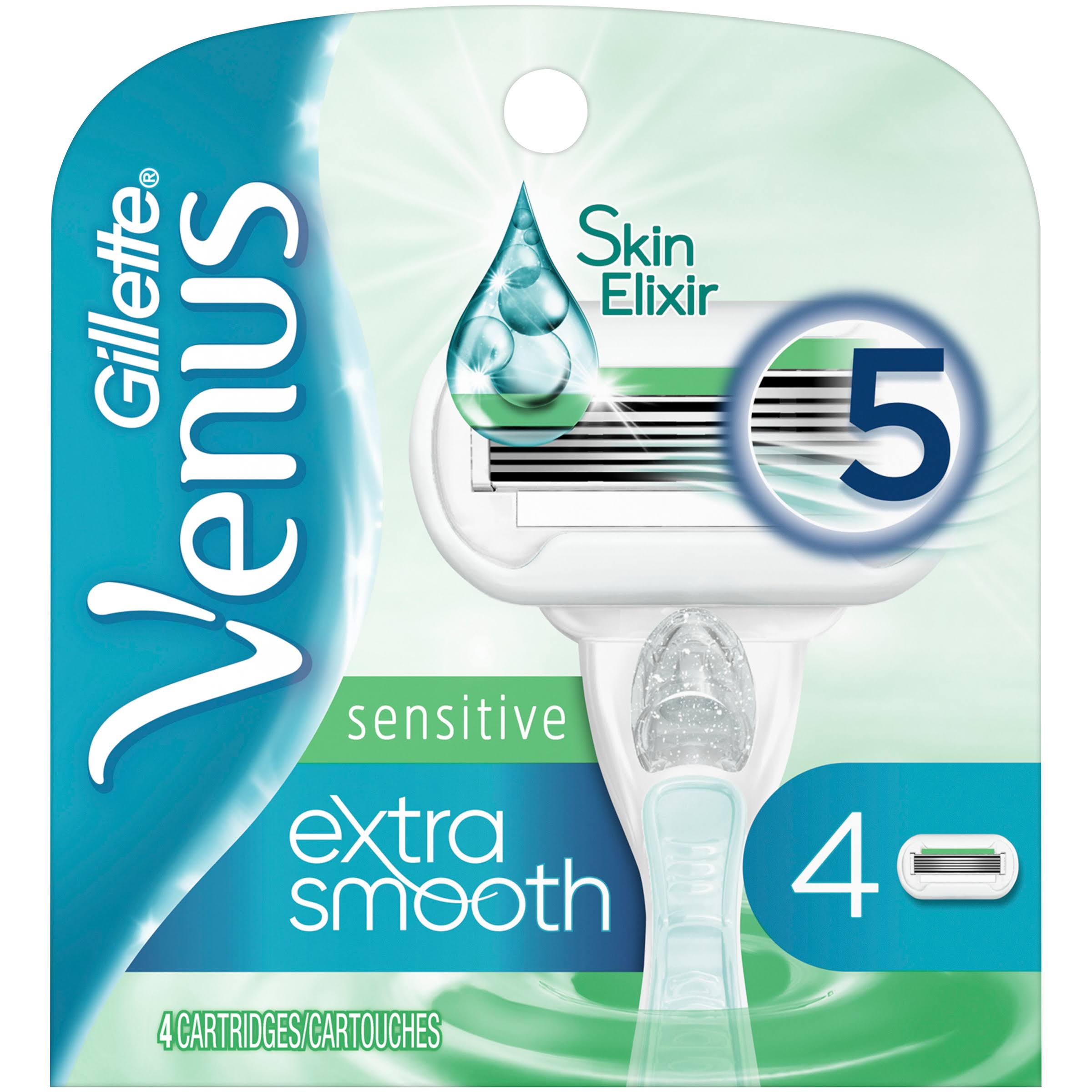 Gillette Venus Embrace Sensitive Razor Cartridge - 4 Count