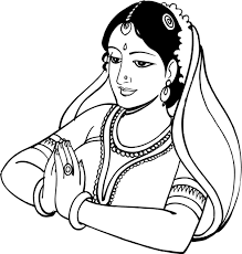 Indian Wedding Reception Clipart