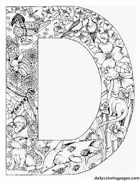 Animal Alphabet Letters To Print Color Or Stitch Free Adult Coloring PagesAlphabet