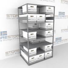 Archive Box Storage Shelves File Box Shelving