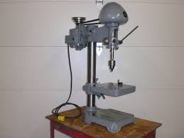 delta slow speed bench top drill press 1940 u0027s antique machine